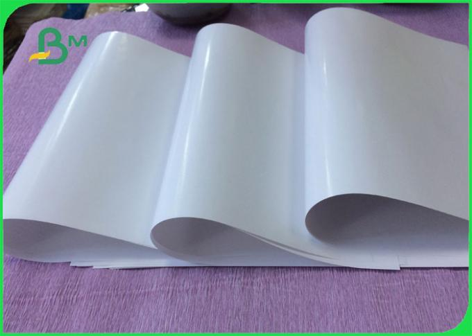 High Glossy 75g 80g 85g 90g Smooth C1S Art Paper For Label Using