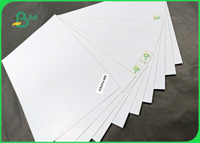 250gsm 300gsm recycle pulp Duplex paper board Good folding resistance in sheet